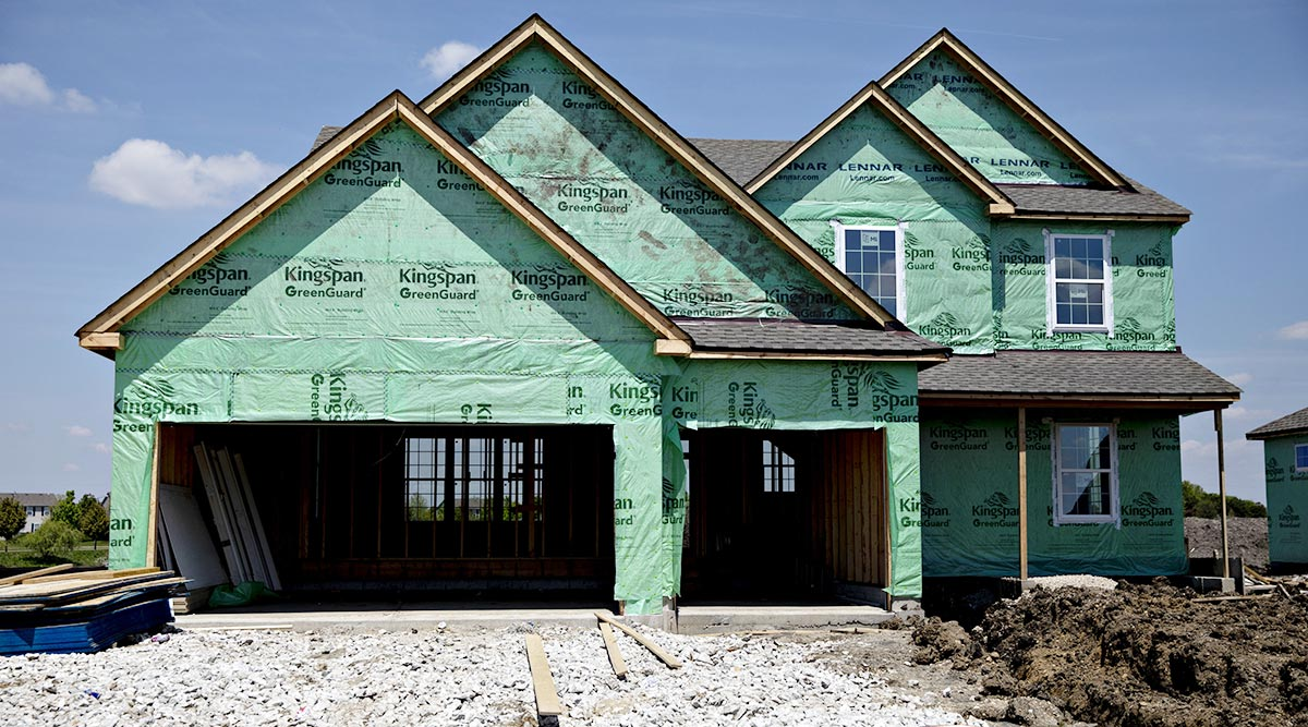 US Housing Starts Slip, Permit Activity Drops to a Two-Year Low