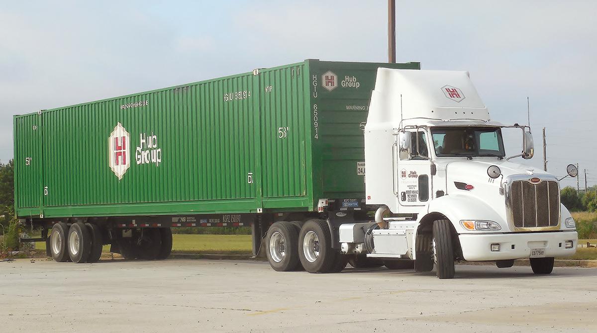 Hub Group truck