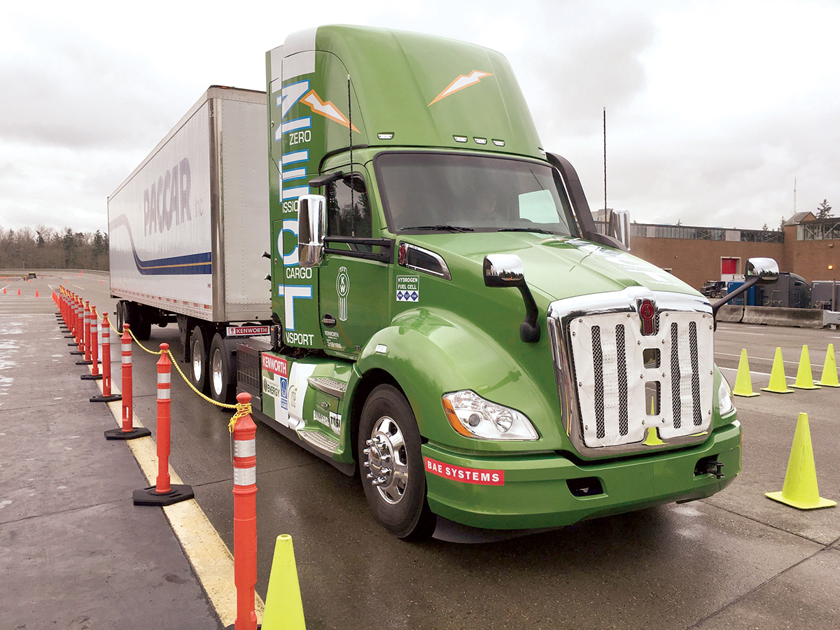 ZECT Kenworth T680 day cab
