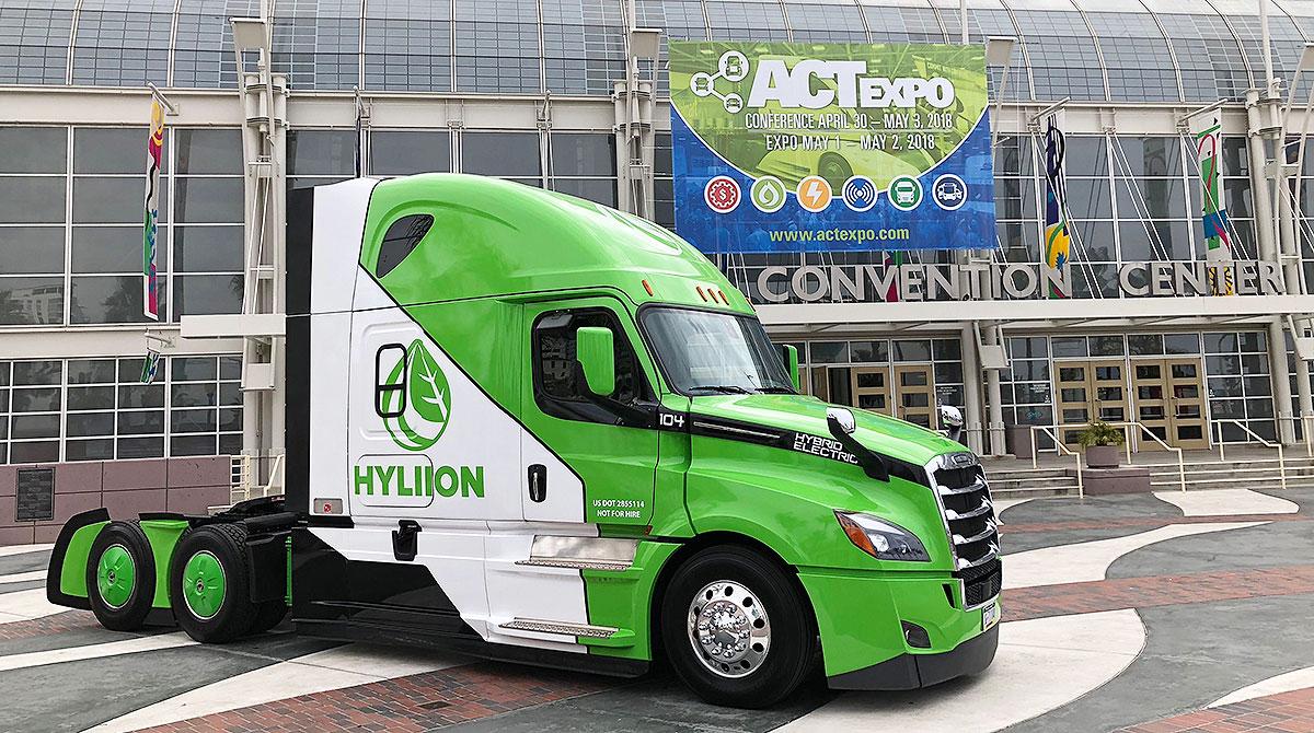 Hyliion heavy-duty truck