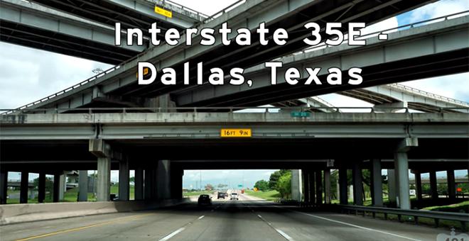 I-35 East Dallas