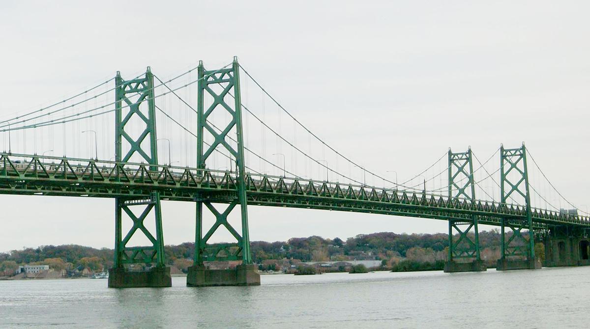 Existing I-74 Bridge