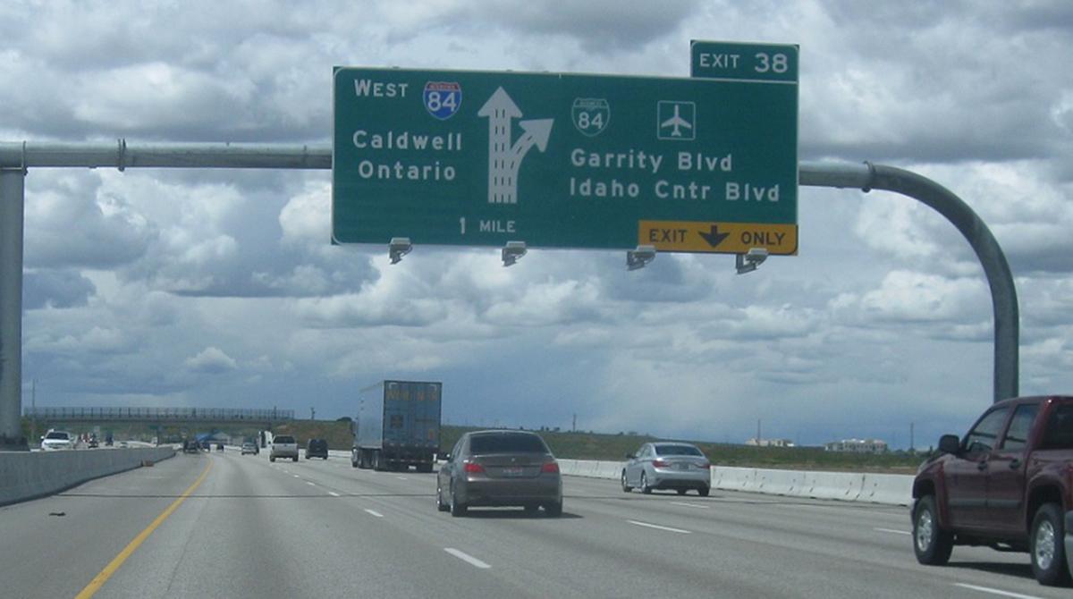 Interstate 84 in Idaho