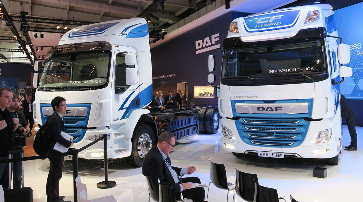 DAF trucks at IAA