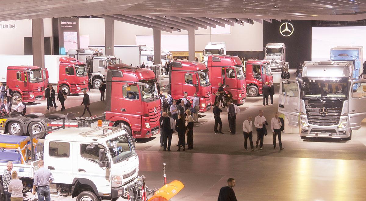 Daimler medium- and light-duty trucks