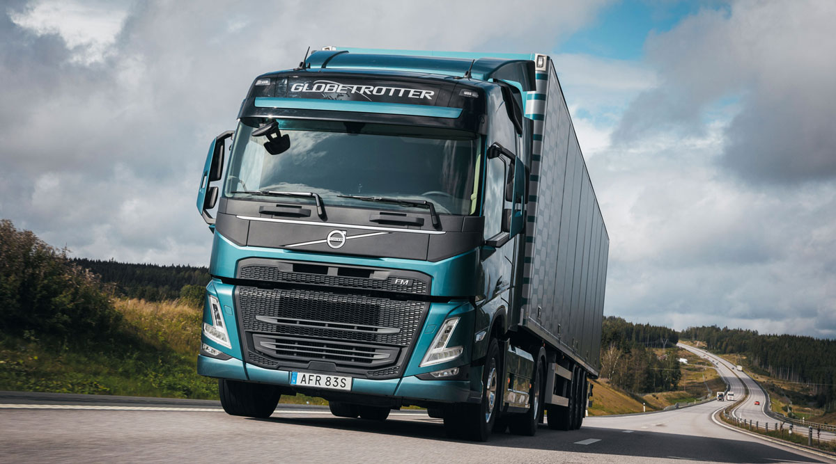 The new Volvo FM, announced in February.