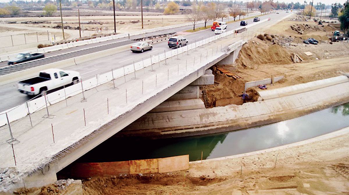 Kern County (Calif.) highway bridge