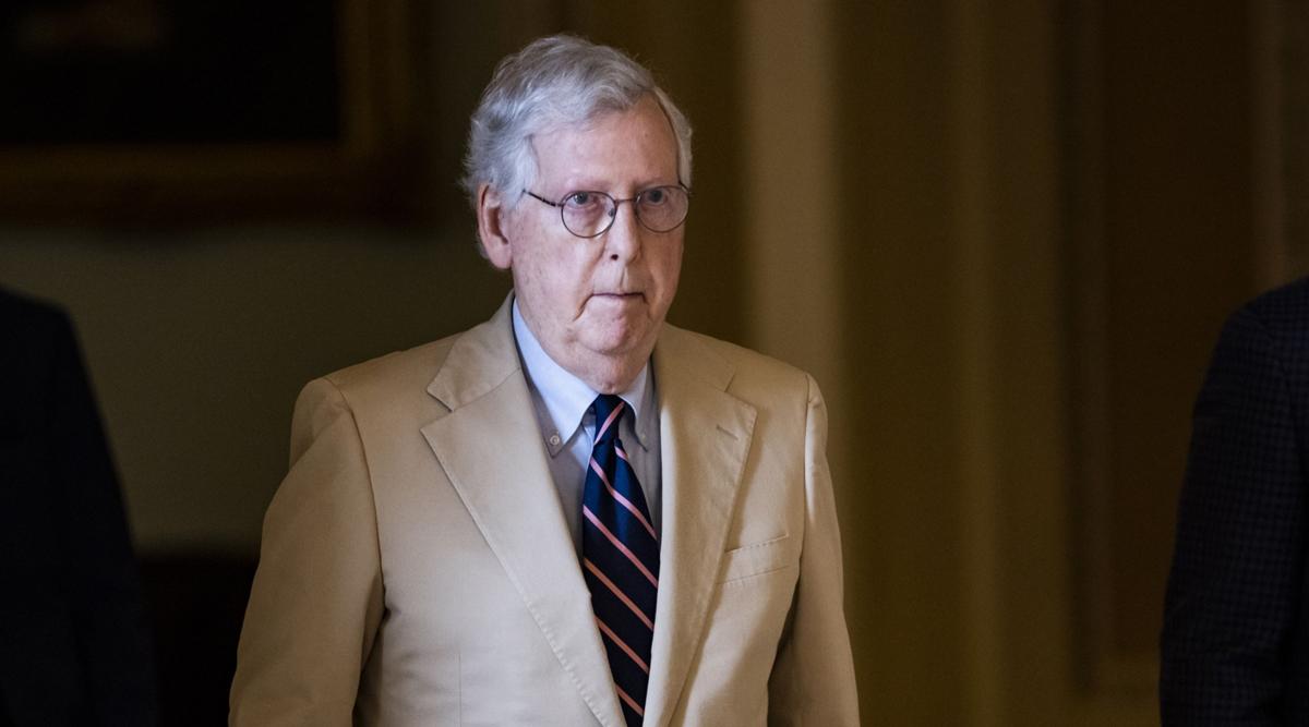 Senate Minority Leader Mitch McConnell. (Samuel Corum/Bloomberg News)