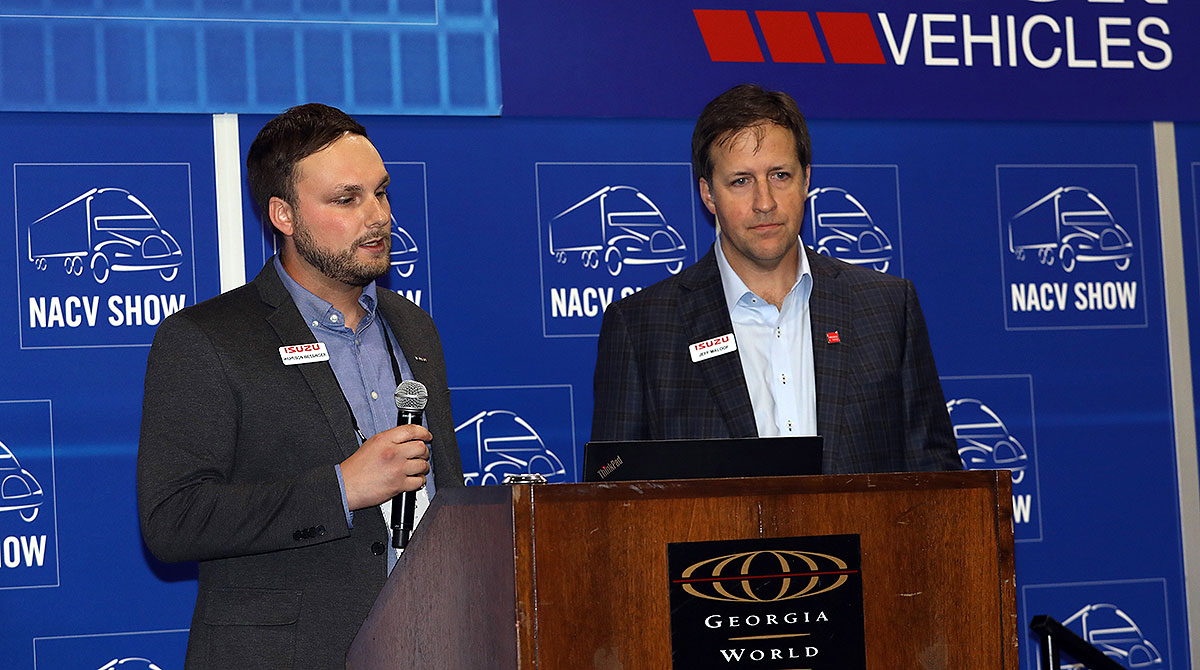 Harrison Wessinger (L) and Jeff Maloof (R)