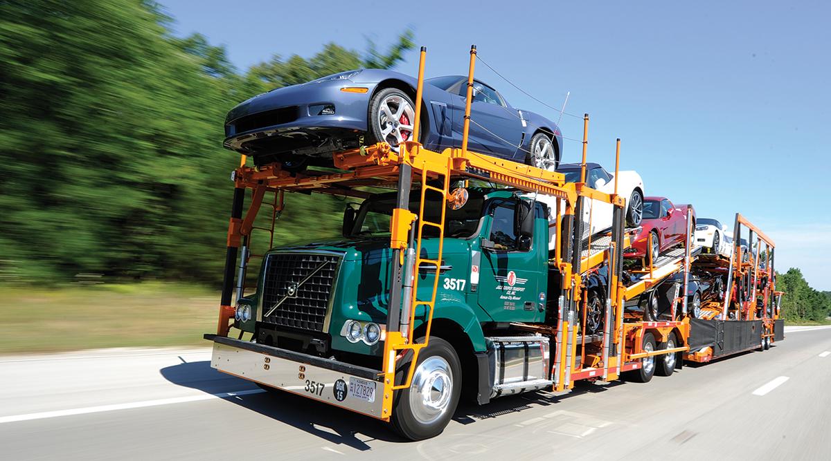 Jack Cooper auto hauler