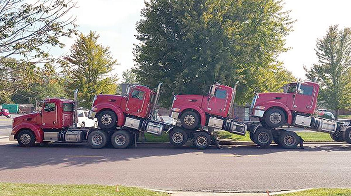 J&J Driveaway cab hauler