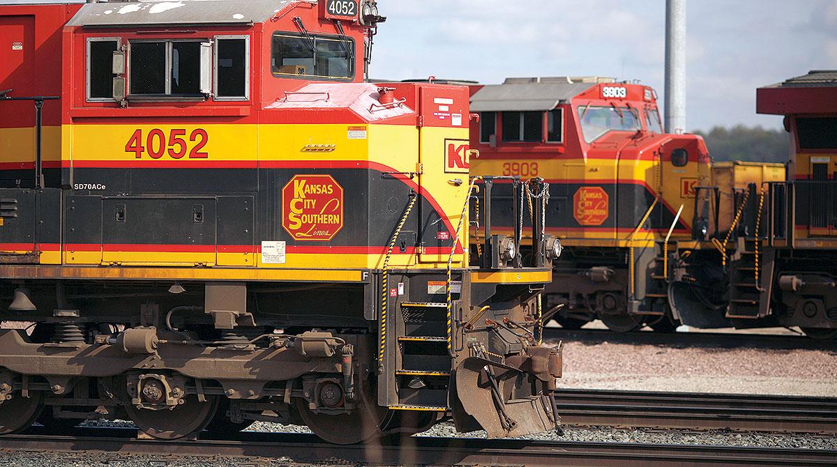 Kansas City Southern engine