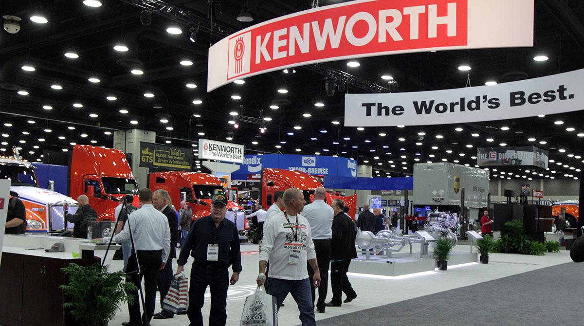 Kenworth display at MATS