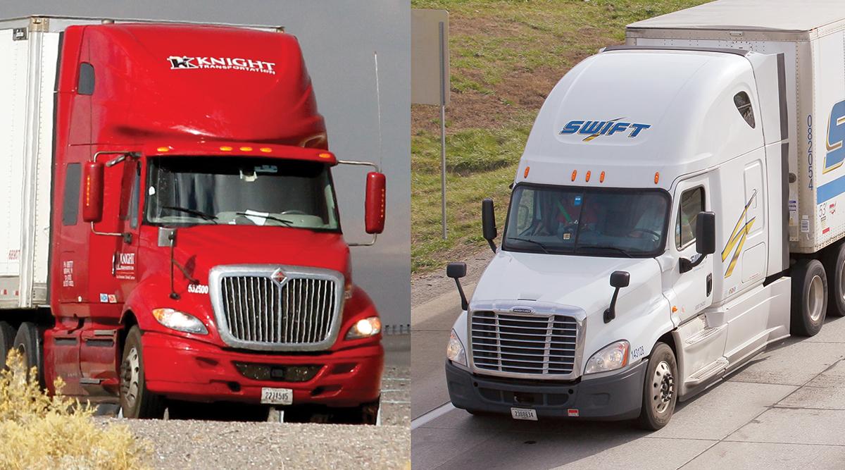 Knight and Swift trucks