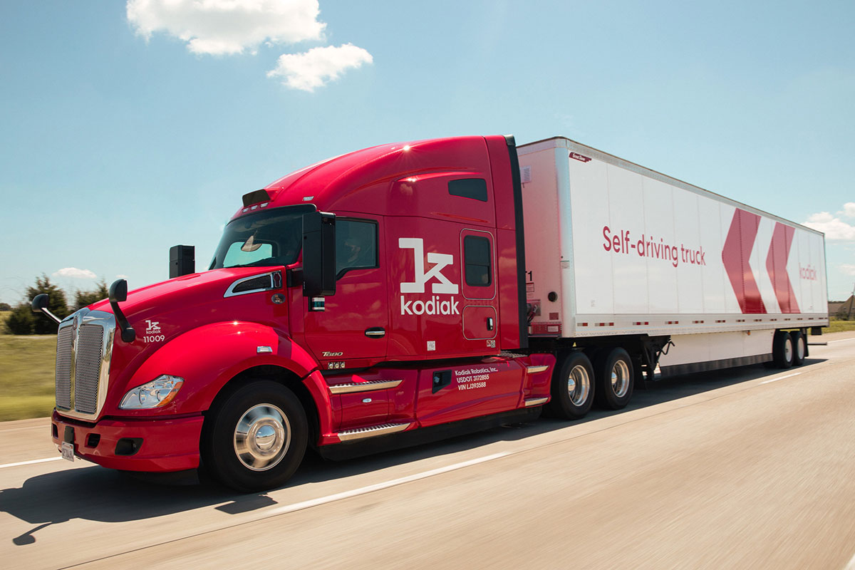 Kodiak Robotics truck