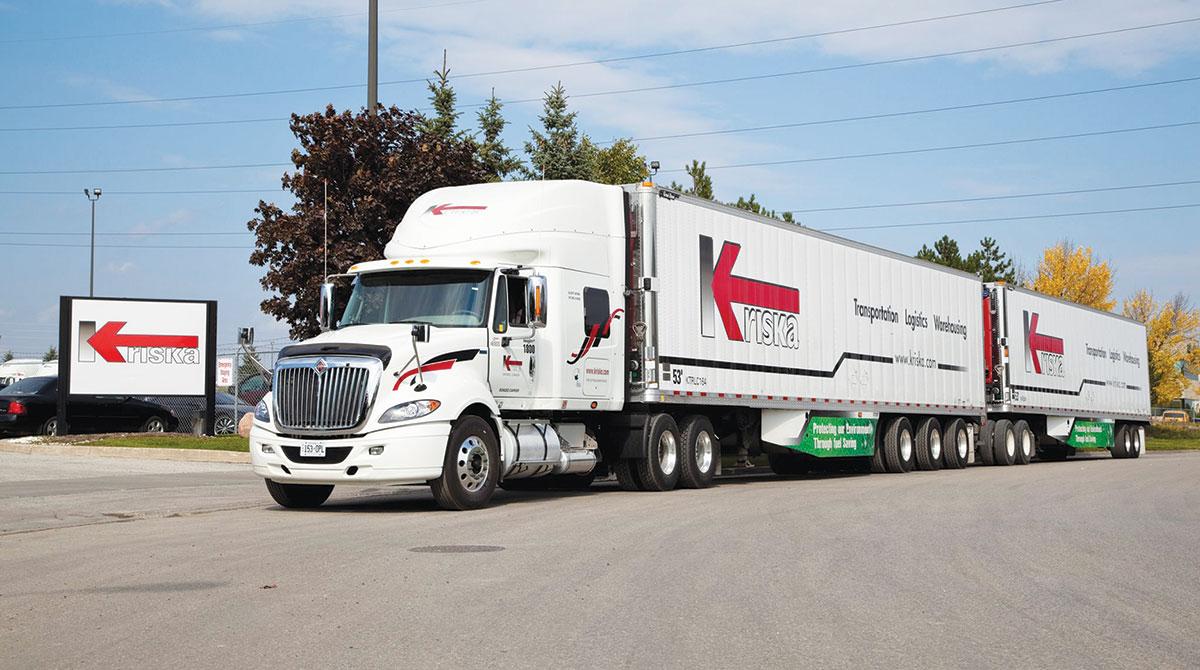 Kriska Transportation Group truck