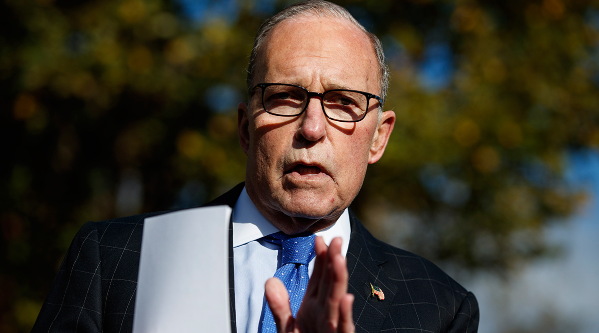White House economic adviser Larry Kudlow