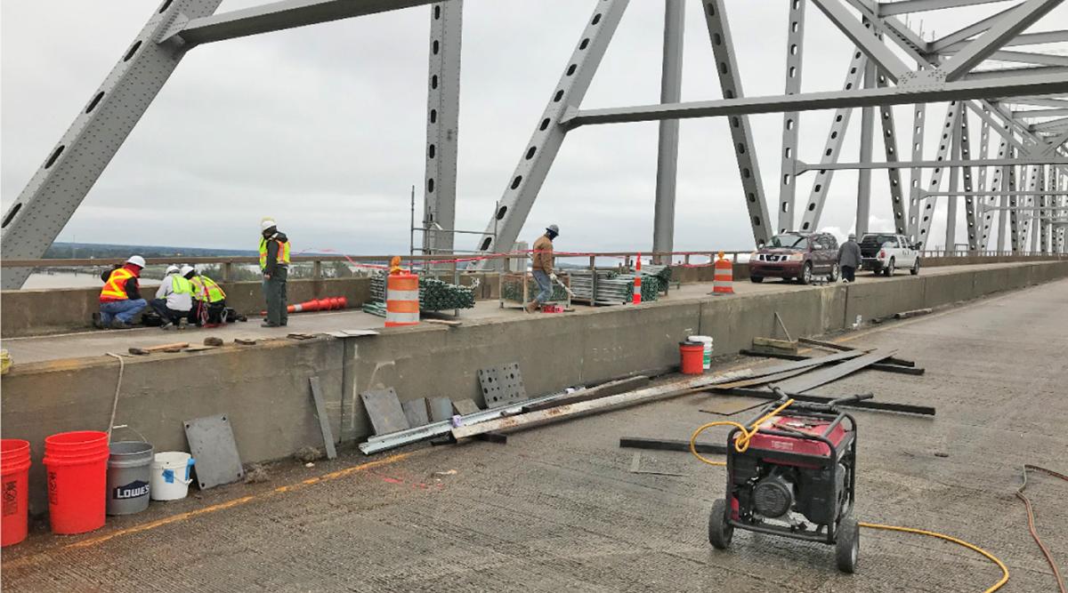 Sunshine Bridge repair