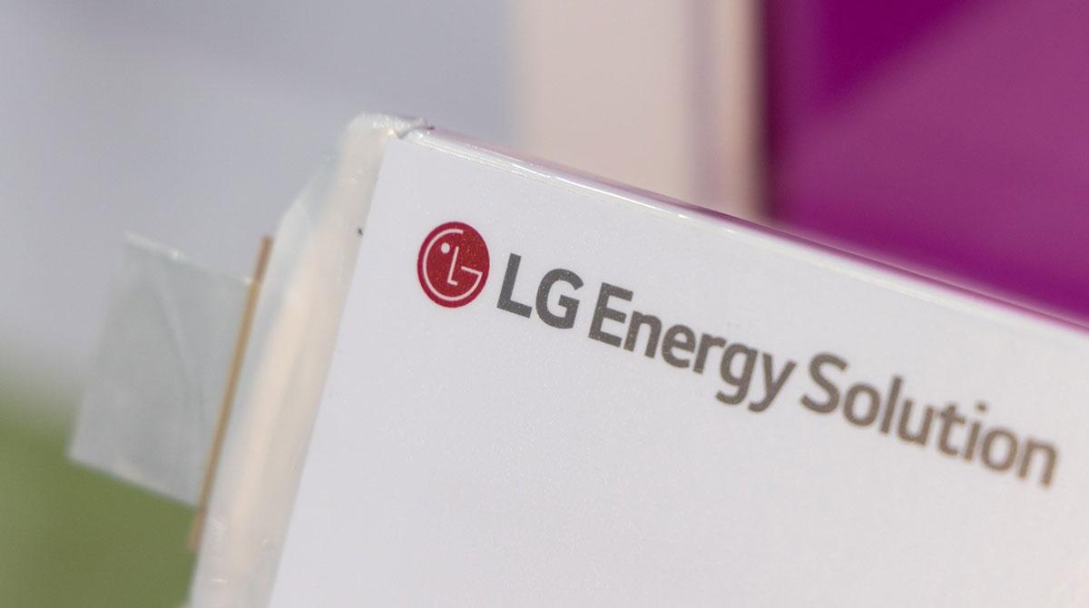 LG battery cell