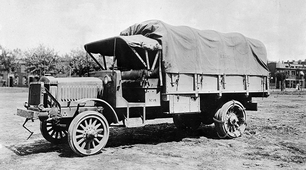 Vintage Liberty truck