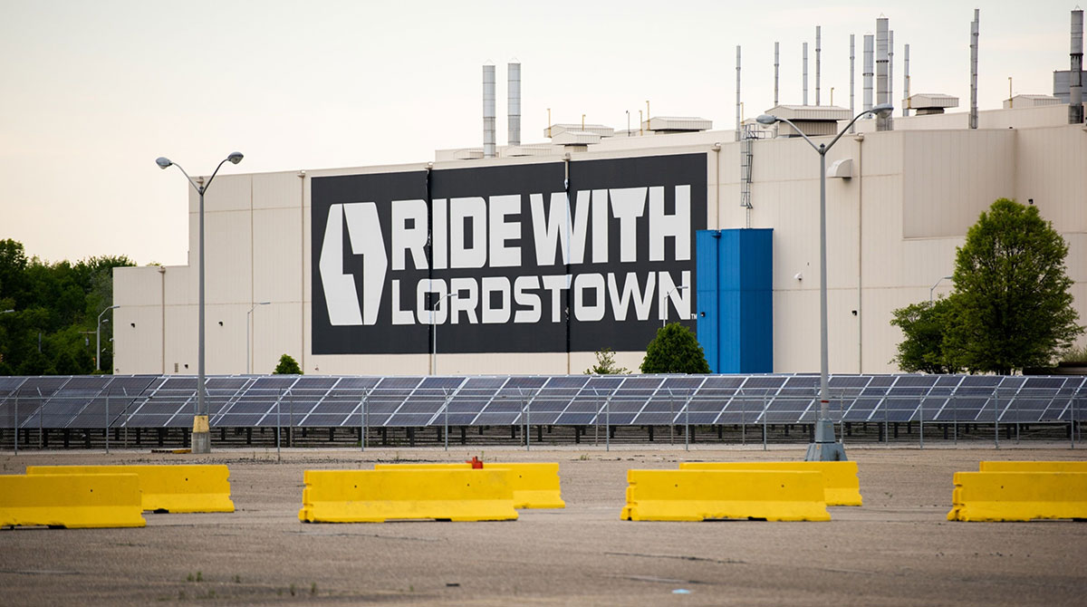 Lordstown Nears Deal to Sell Ohio Plant to Taiwan's Foxconn