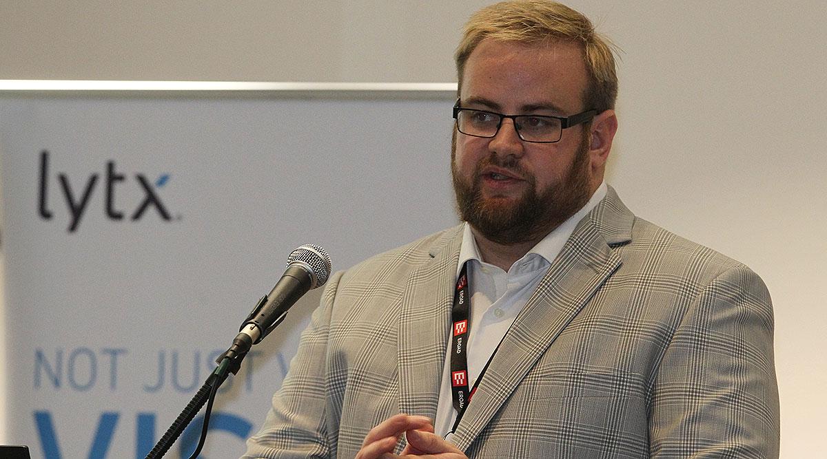 Lytx data analyst Ryan Brandos