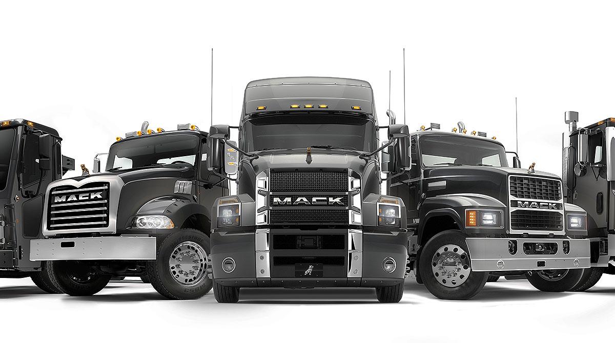 Mack Trucks lineup