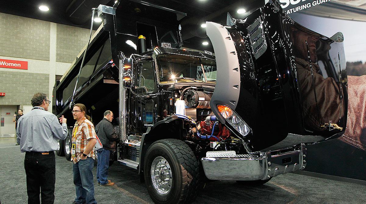 Mack Granite Axle Back Dump
