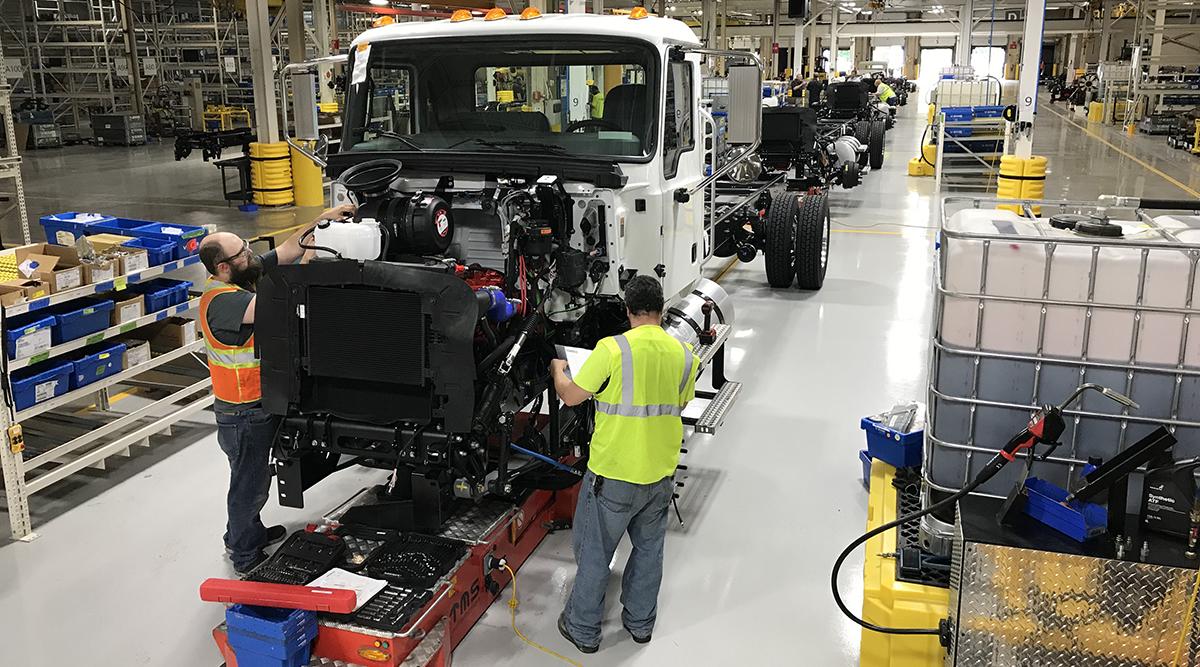 Mack Trucks facility in Salem, Va.