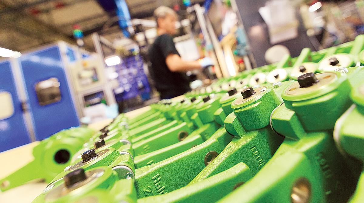 Haldex factory