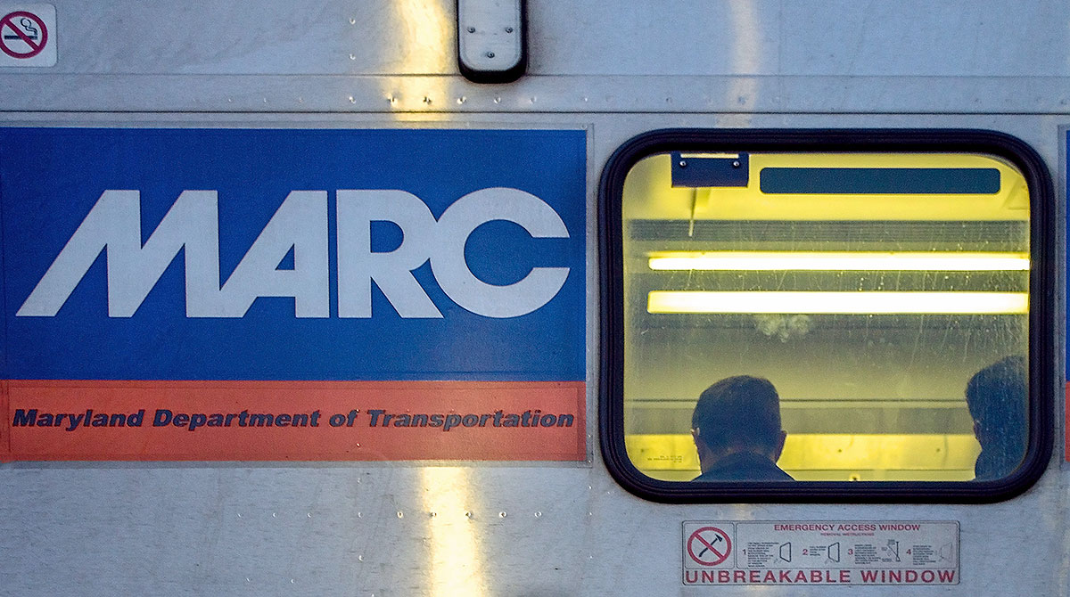 MARC commuter train