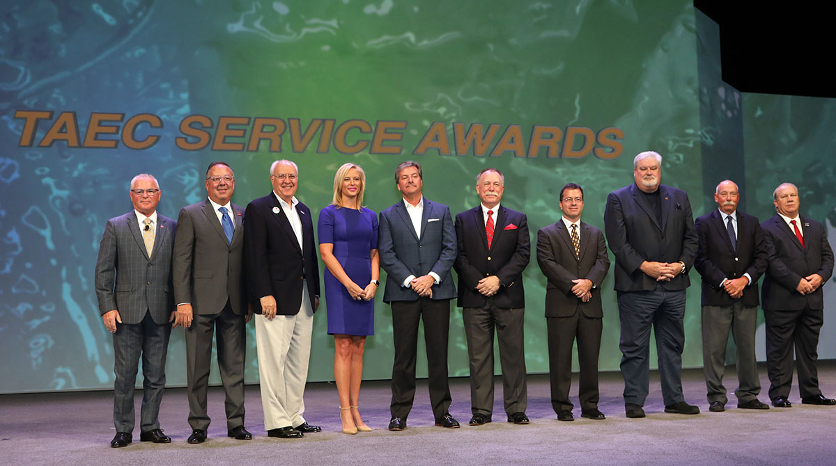 ATA Service Award Honorees at 2019 MCE