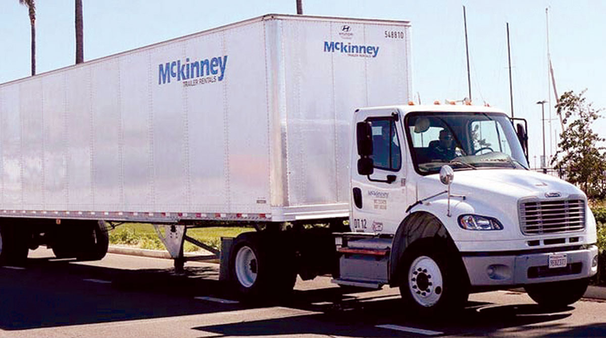 Mckinney truck and trailer