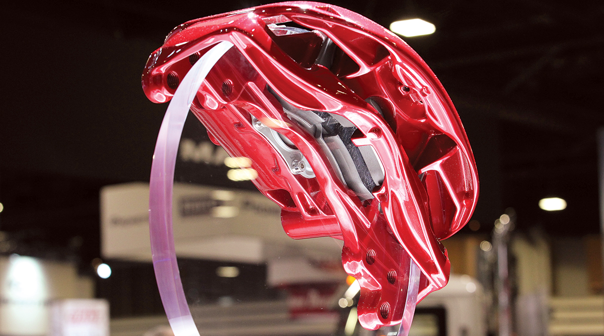 Meritor EX+ LS air disc brake