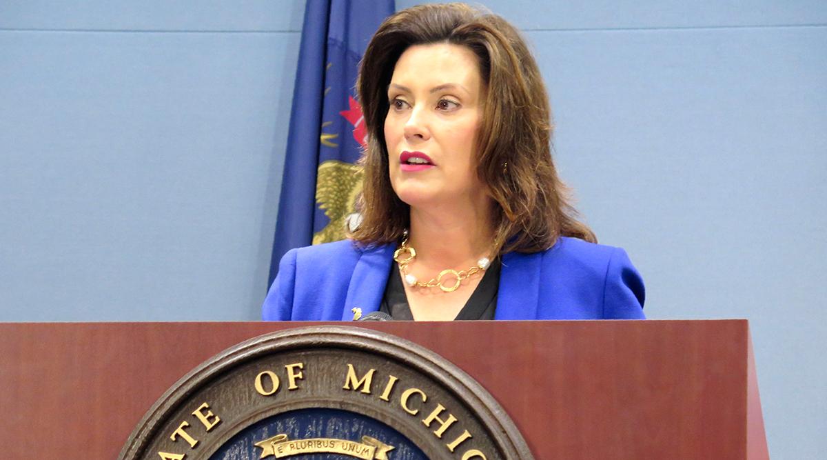 Michigan Gov. Gretchen Whitmer