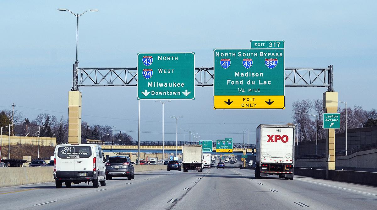 Milwaukee interstates