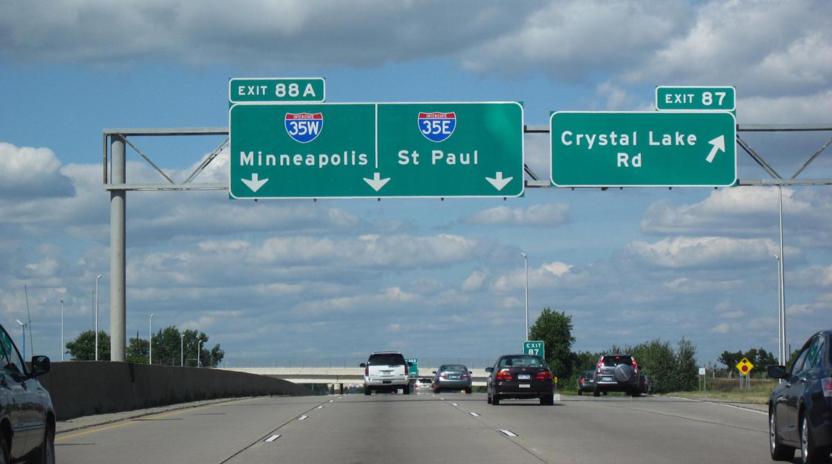 I-35 in Minnesota