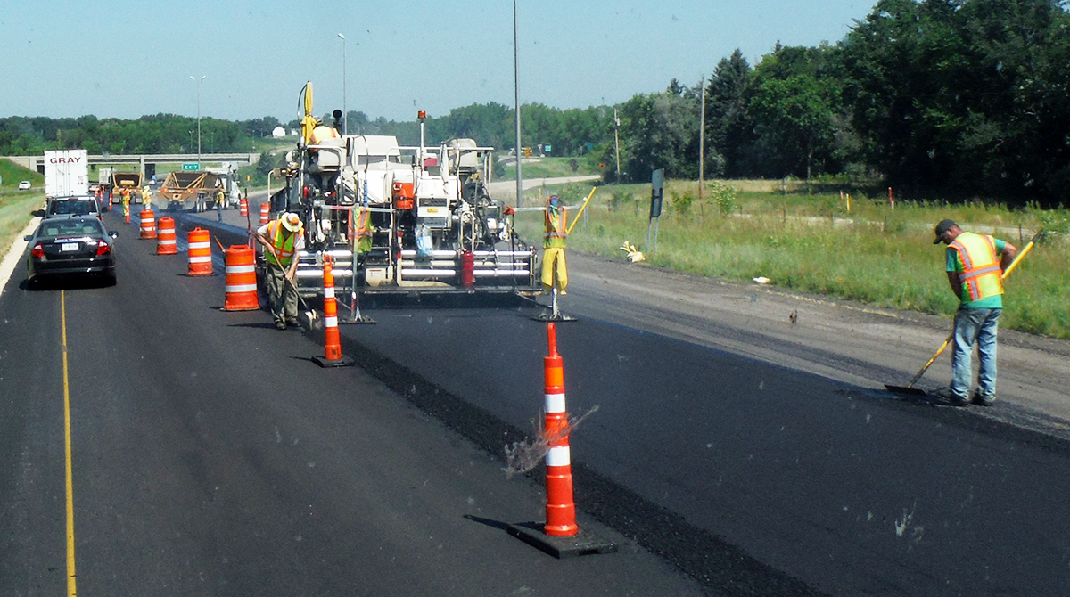 Minnesota roadwork