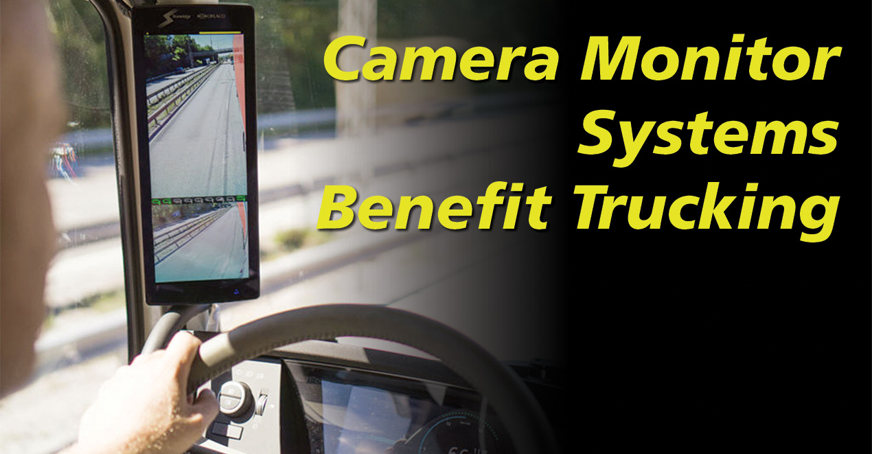 MirrorEye camera monitor system
