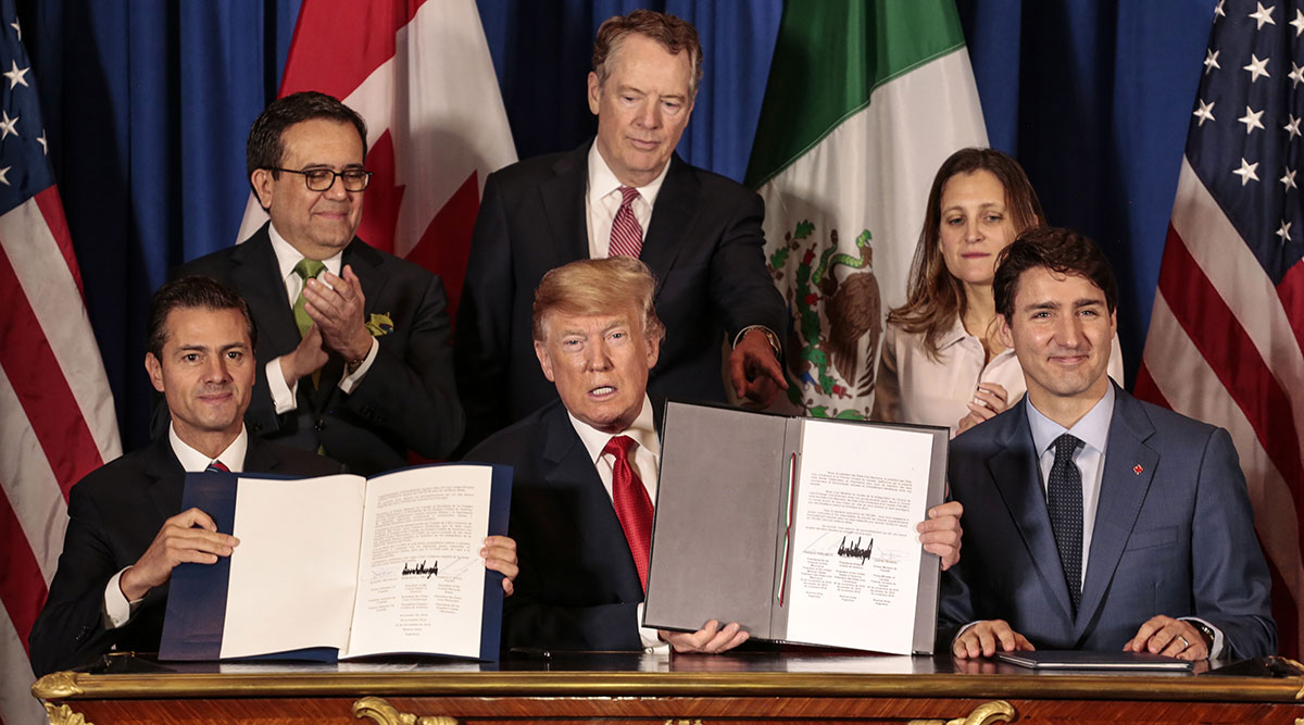 US, Canada, Mexico sign trade deal, Trump shrugs off Congress hurdle