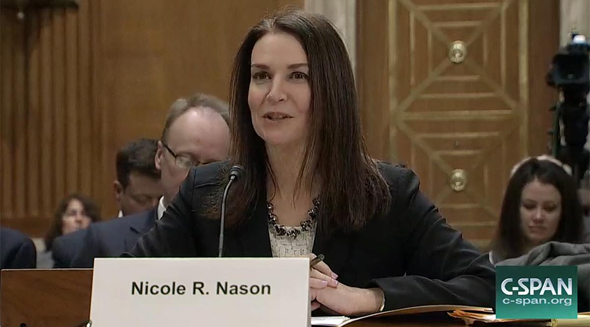 FHWA nominee Nicole Nason