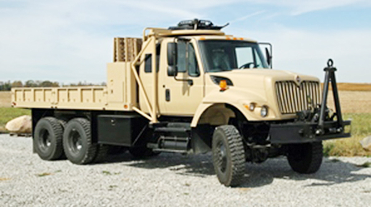 Navistar Defense vehicle