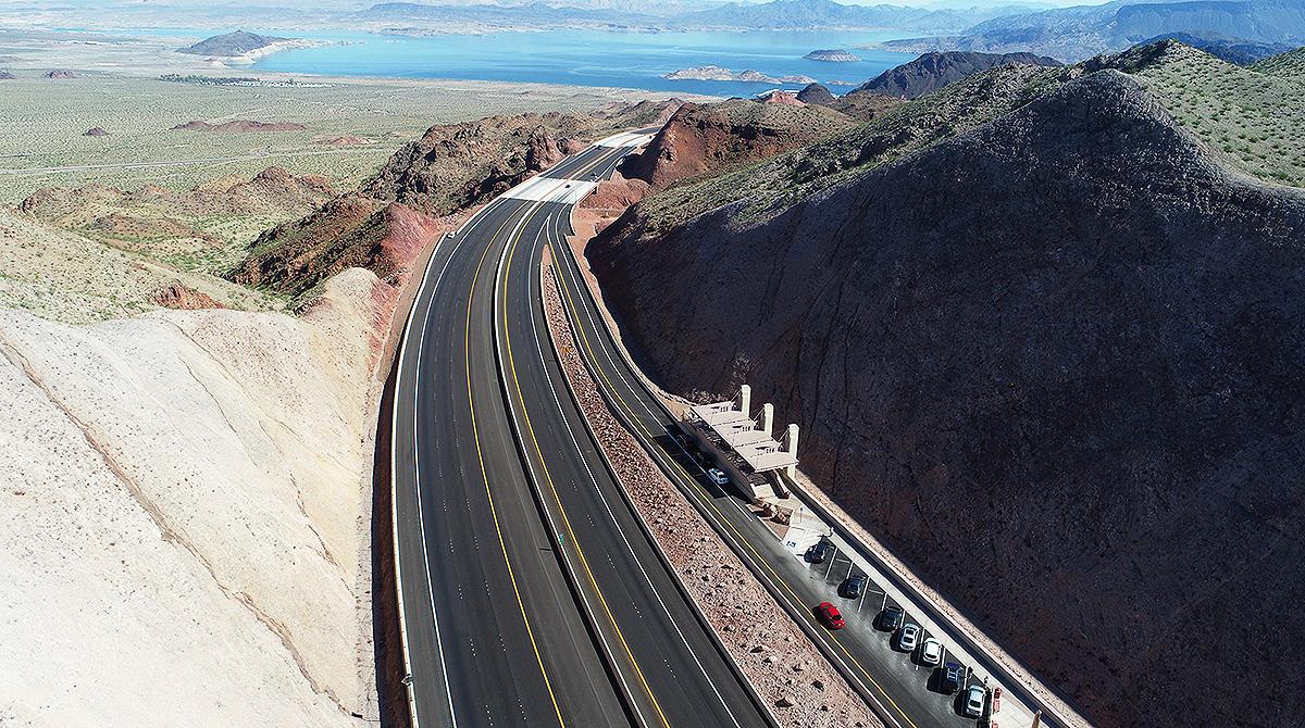 I-11 Nevada Lake Mead Overlook