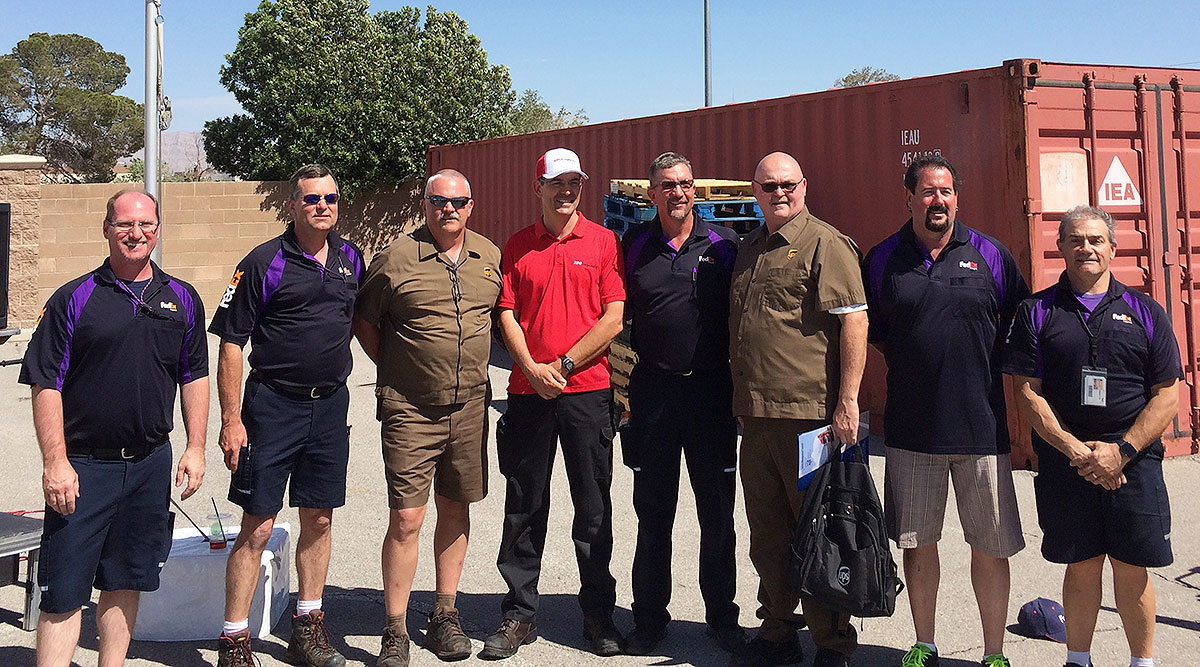 Nevada 2018 truck driving championships winners