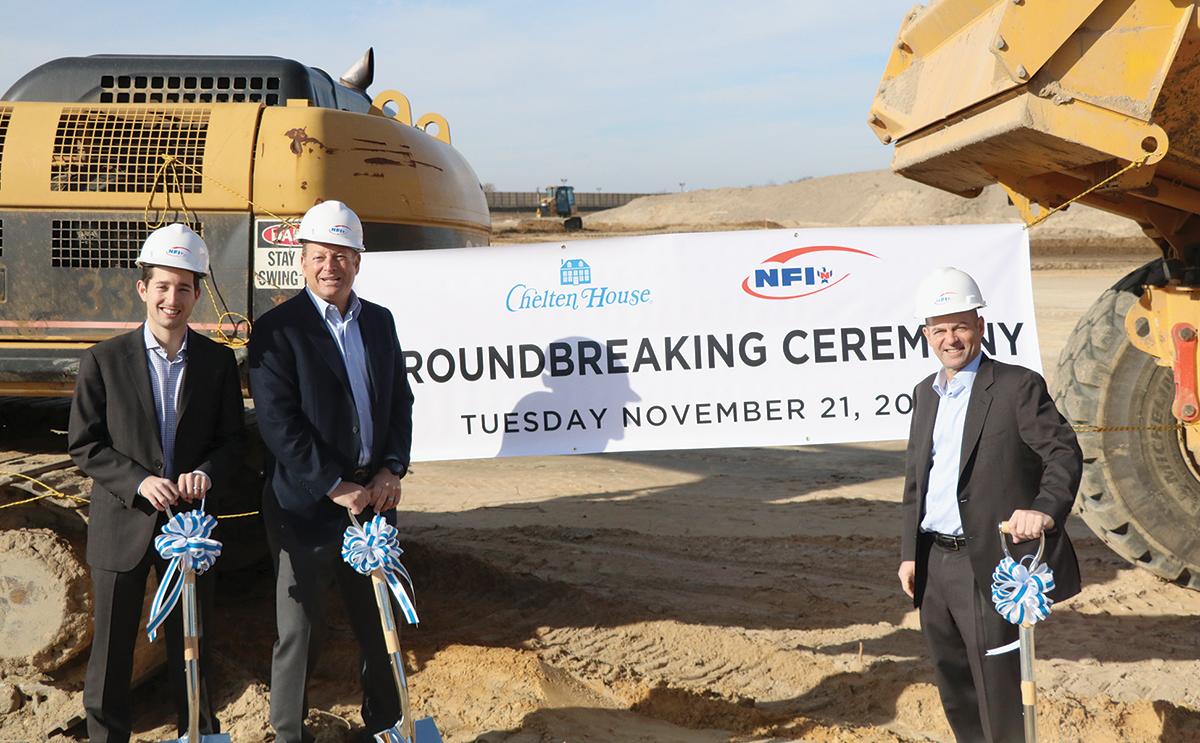 NFI groundbreaking in New Jersey