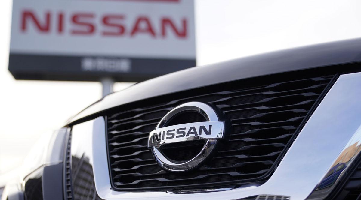 Nissan Motor Co. logo.
