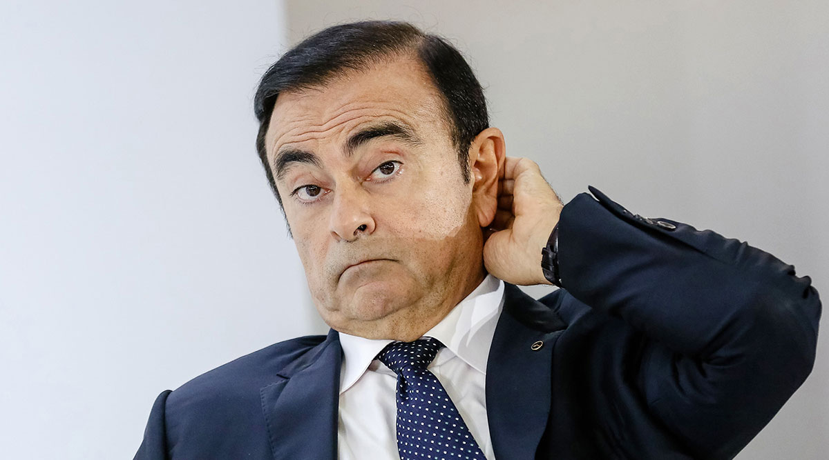nissan to oust chairman carlos ghosn after arrest. Black Bedroom Furniture Sets. Home Design Ideas
