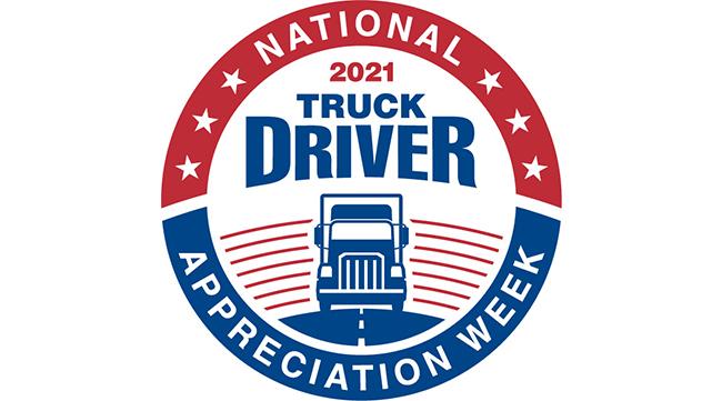 National Truck Driver Appreciation Week 2021 logo