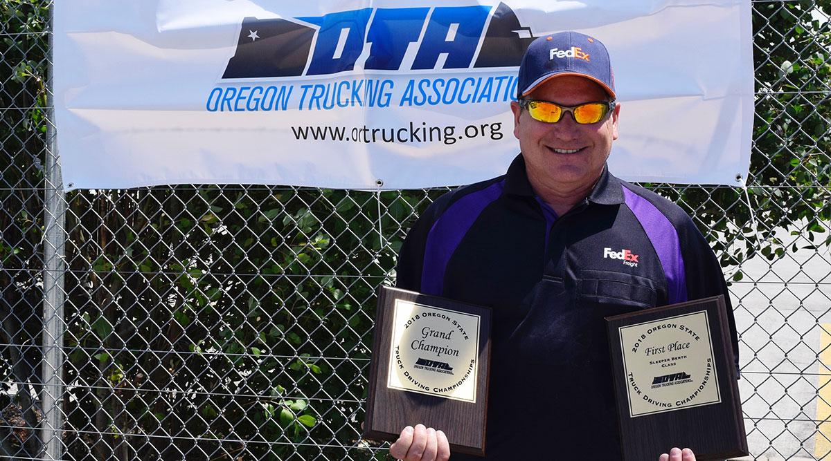 Oregon Grand Champion Chris Outen