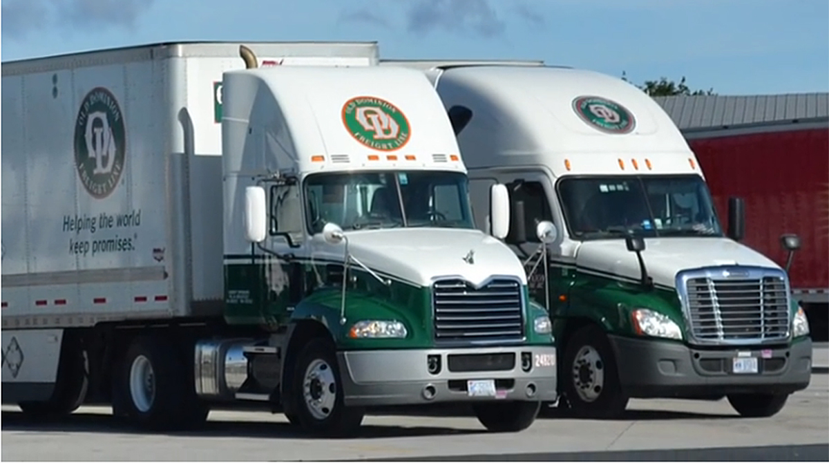 Old Dominion Freight Line trucks